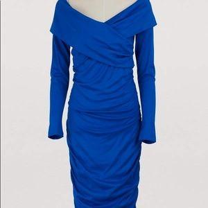 Diane Von Furstenberg Long sleeved midi dress